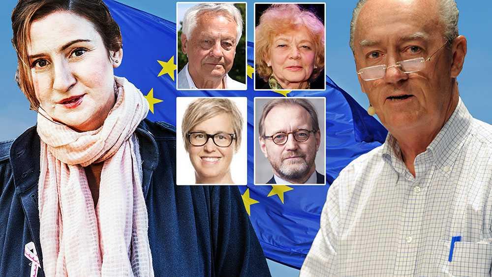 Vi representerar olika erfarenheter och olika politiska uppfattningar, men är enade om att EU måste spela en fortsatt ledande roll i kampen för demokrati, gemensam säkerhet, öppna ekonomier och social och miljömässig hållbarhet, skriver debattörerna. Bilden är ett montage.