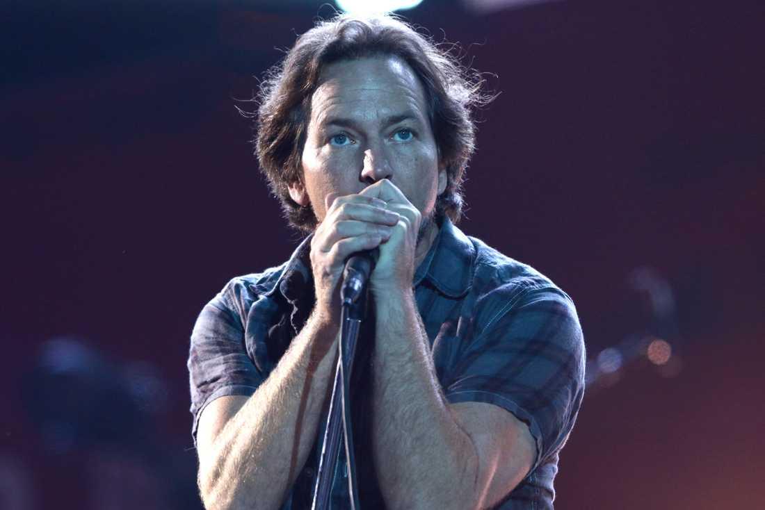 Eddie Veddler, sångare i Pearl Jam.
