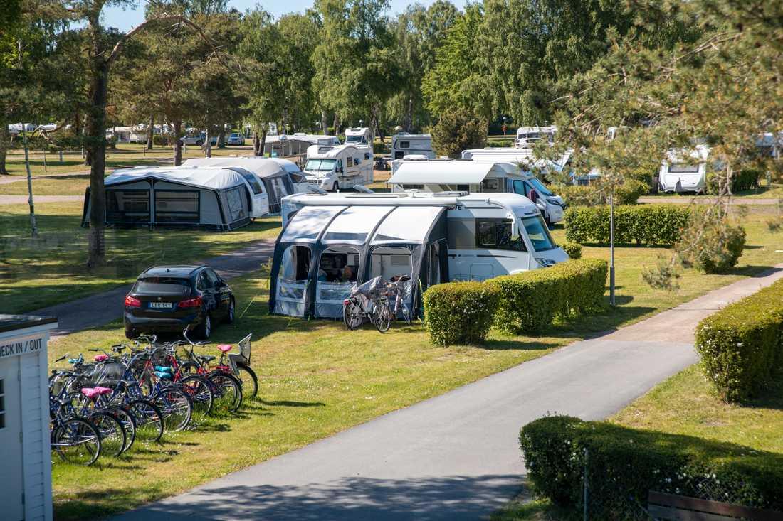 Falsterbo camping  är en anläggning som både har haft svenska och utländska bokningar.