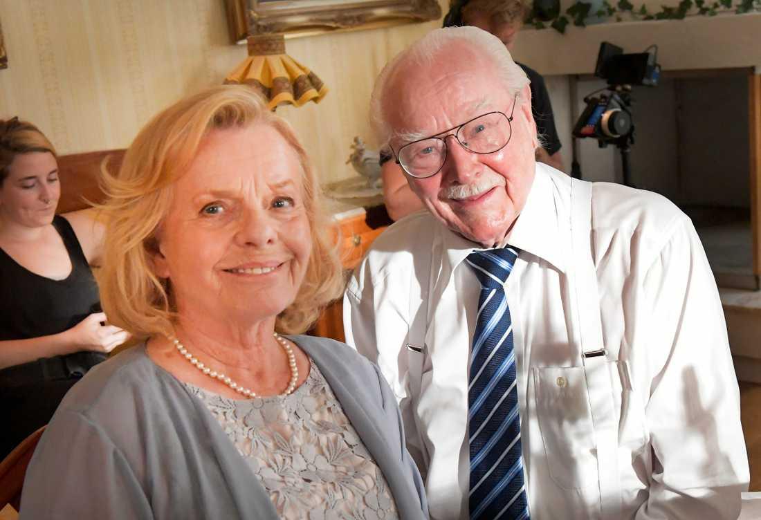 Marie Göransson och Jan Malmsjö.