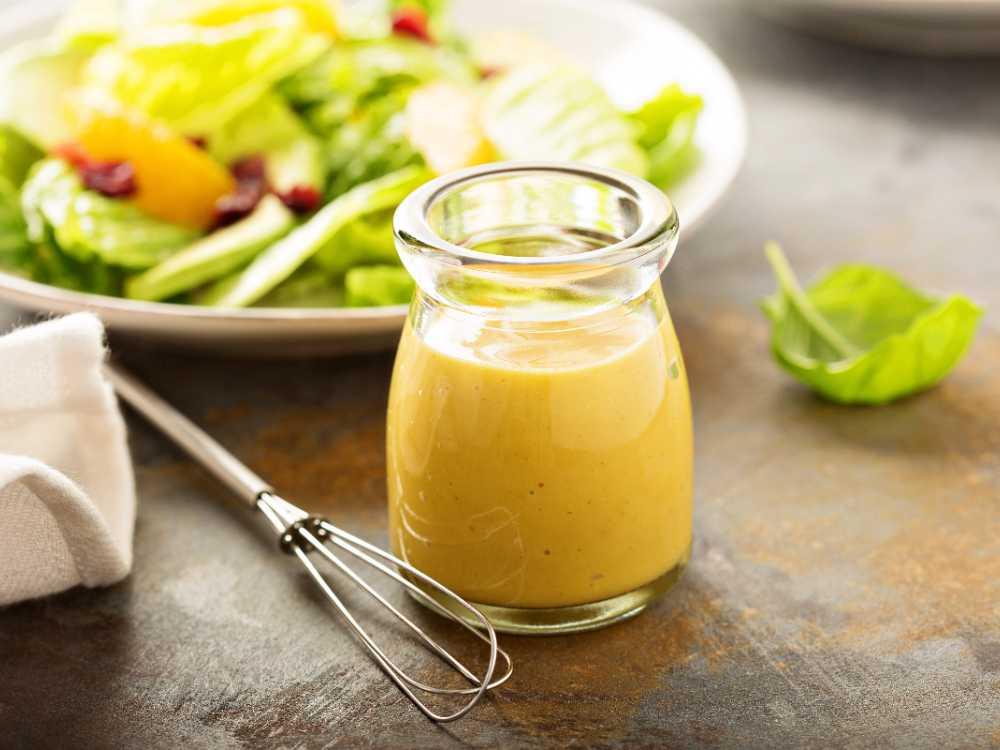 Salladsdressing med senap och honung