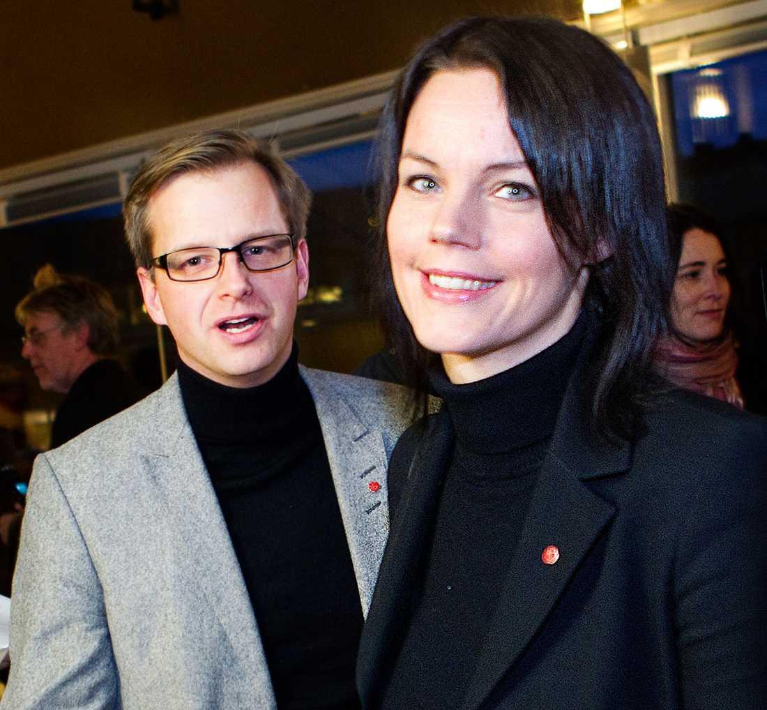 LEDARE? Mikael Damberg, riksdagsledamot, Stockholm. Veronica Palm, riksdagsledamot, Stockholm.