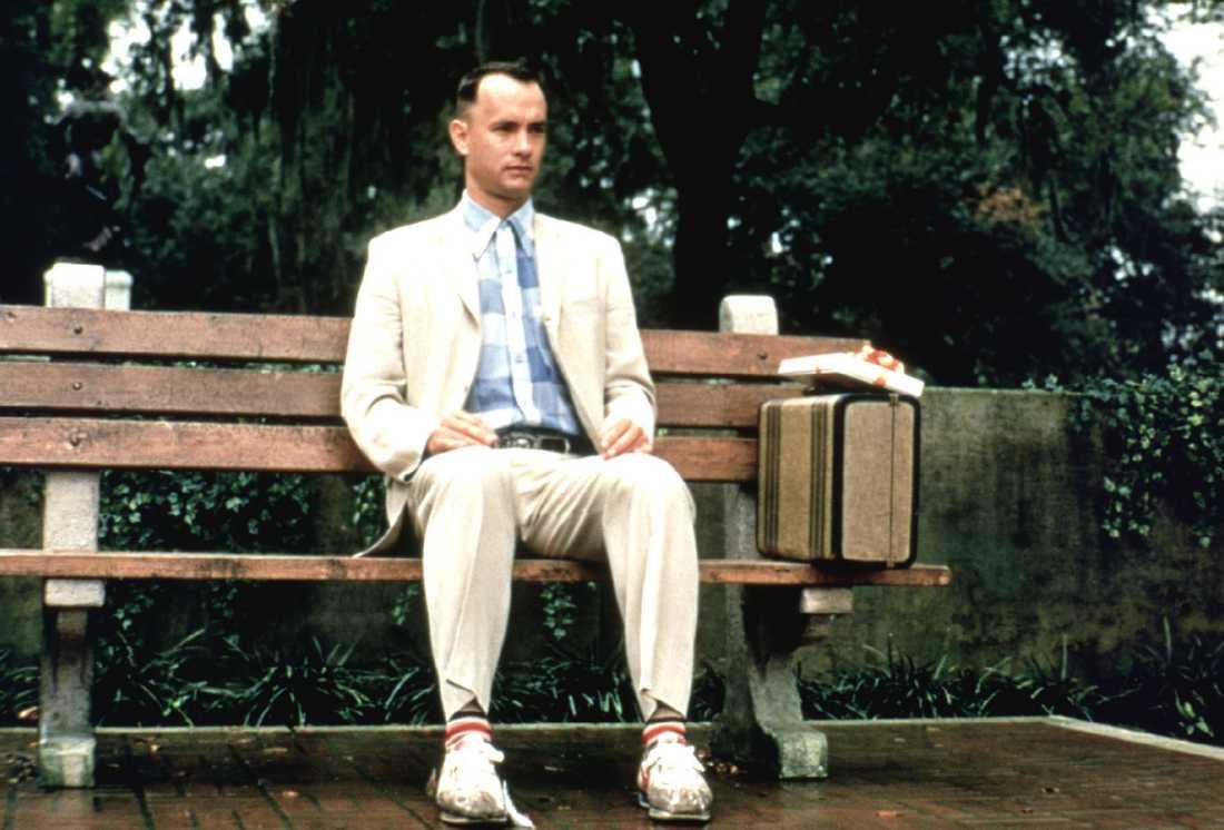 Tom Hanks som Forrest Gump.