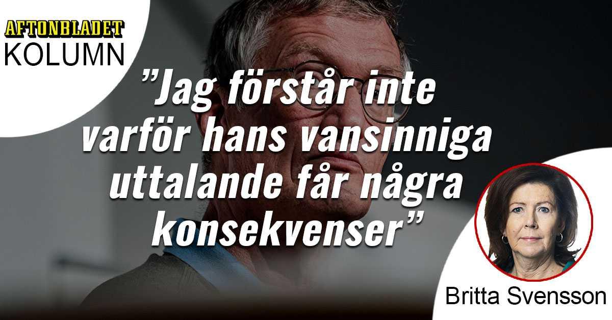 Vad Ar Det Som Hander I Anders Tegnells Huvud Aftonbladet