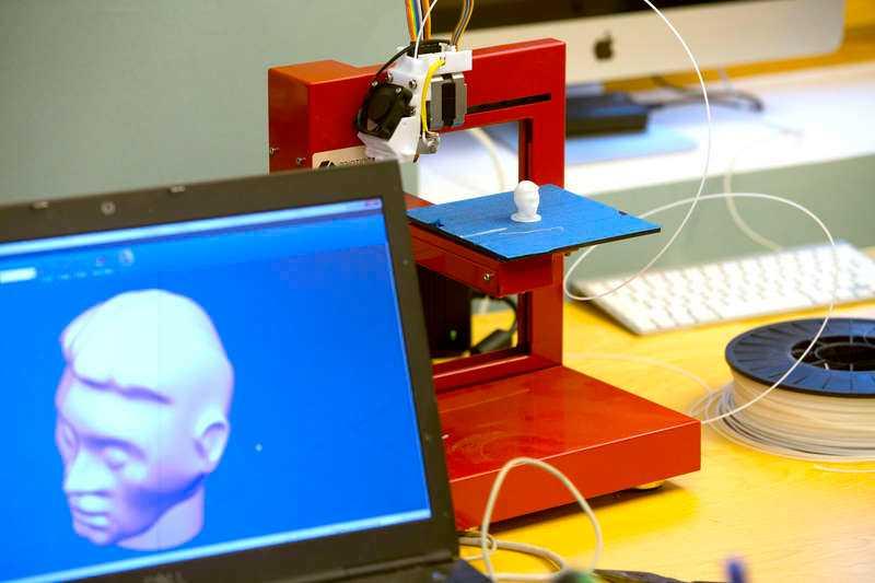 Professorns 3D-skrivare.
