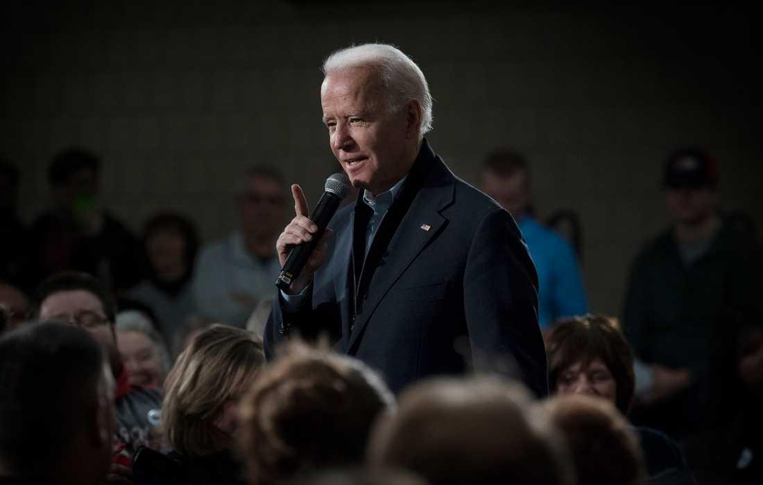 Joe Biden i Souix City.