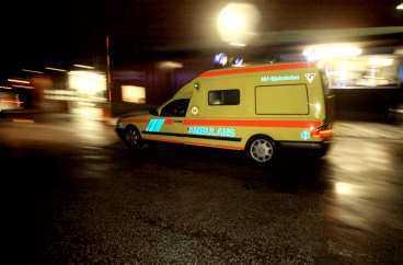 19 personer fick föras till sjukhus.Foto : DRAGAN MITROVIC