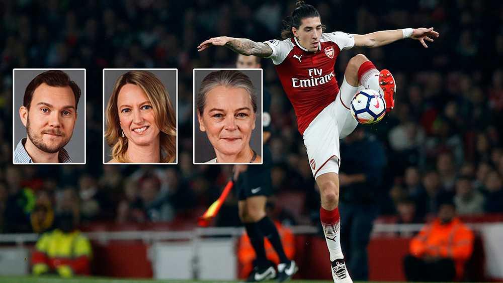Fotbollsspelaren Héctor Bellerín är en av idrottarna som har valt att inte äta animaliska produkter. Arsenalbacken  är numera vegan.