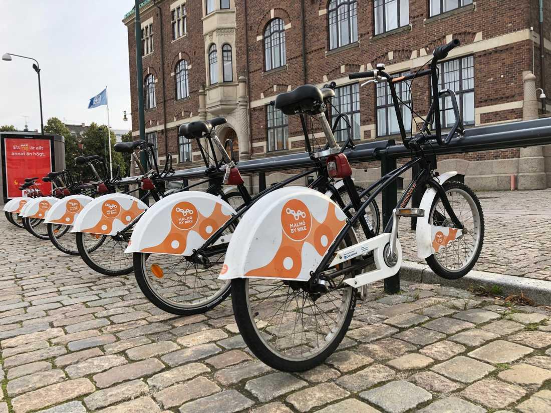 Snart kommer det vara möjligt att hyra cyklar på ytterligare 50 ställen i Malmö.