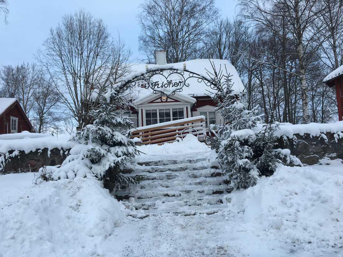 Hit kan snöplogarna komma och värma sig.