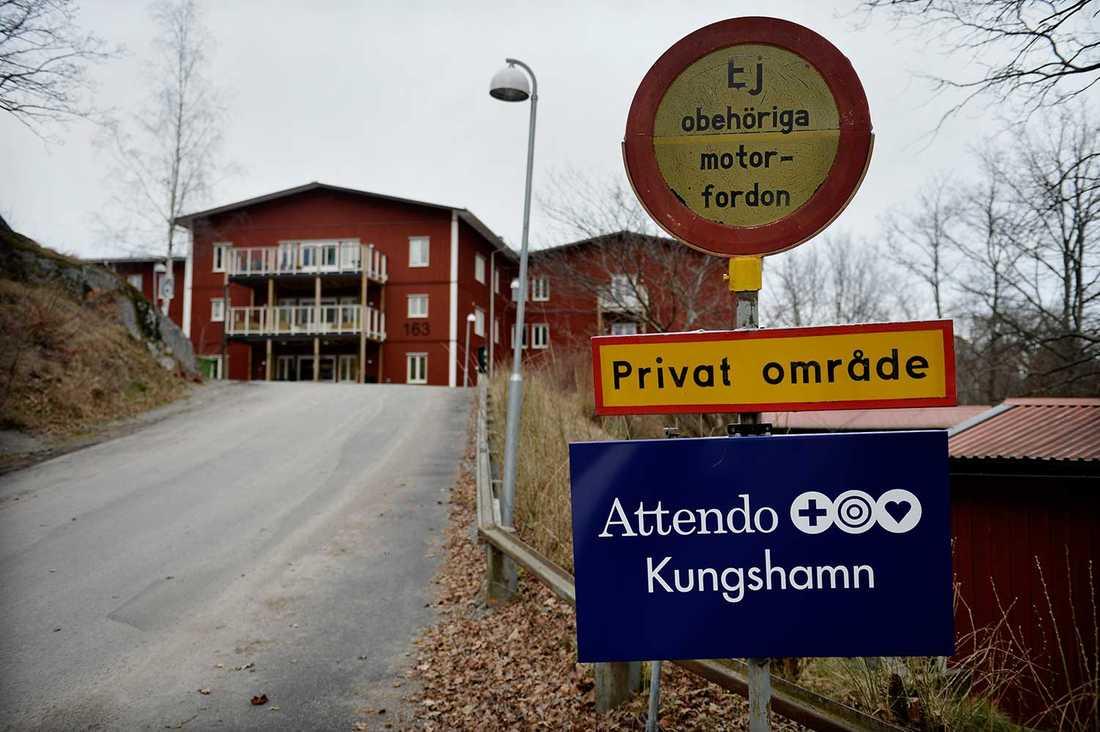 Attendos vårdboende för dementa i Kungshamn i Nacka.