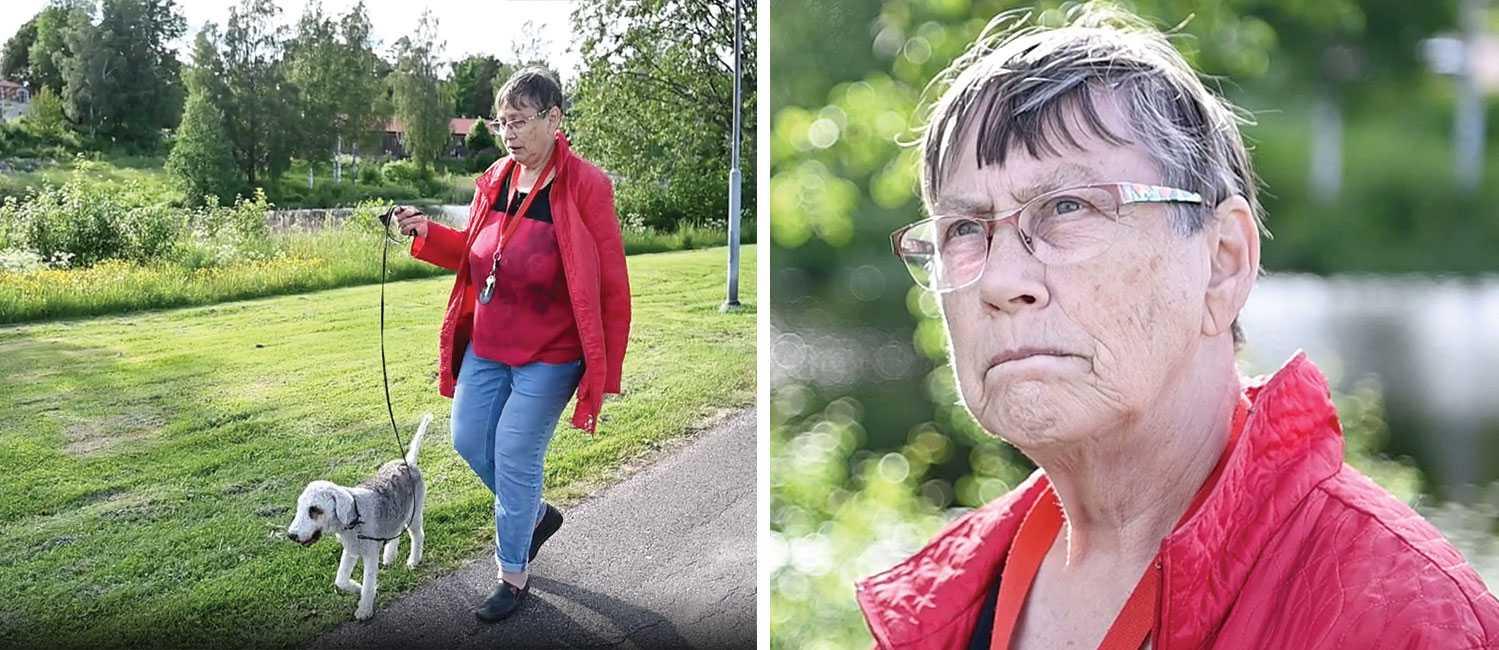 Kerstin Karlsson, 74, bor i Hagfors. Hon undrar över vad som hänt, hur det gått till, hur en sådan tragedi kunnat ske.