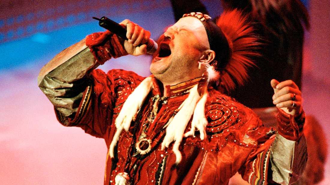 Roger Pontare i Melodifestivalen 2000.