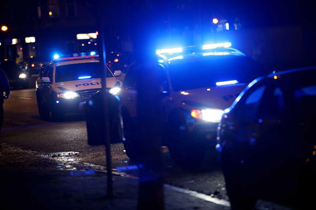 Polis i Malmö.