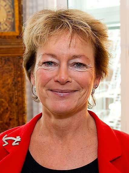 Kulturminister Lena Adelsohn Liljeroth.