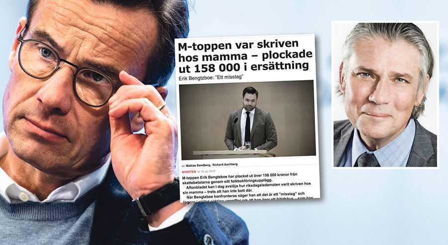 Ulf Kristerssons och Moderaternas krishantering är slapp och direkt farlig för ett politiskt parti, skriver Paul Ronge.