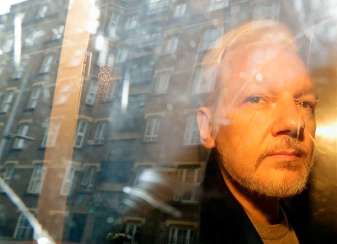 Julian Assange utreds återigen för en våldtäkt som ska ha begåtts i Sverige 2010. Arkivbild.