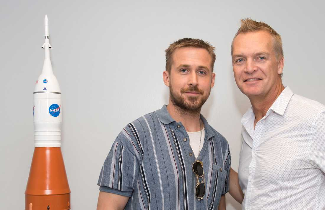 Ryan Gosling och Magnus Sundholm.