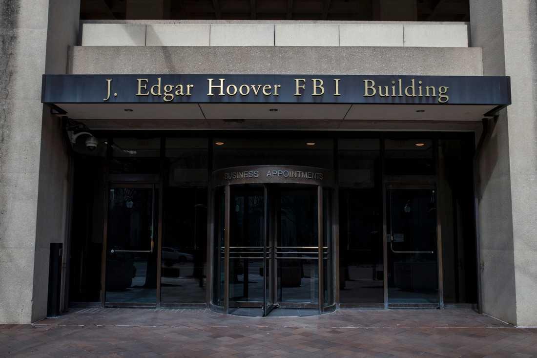 FBI uppger att Kina har en favorit i det amerikanska presidentvalet. På bilden FBI:s högkvarter i Washington. Arkivbild.