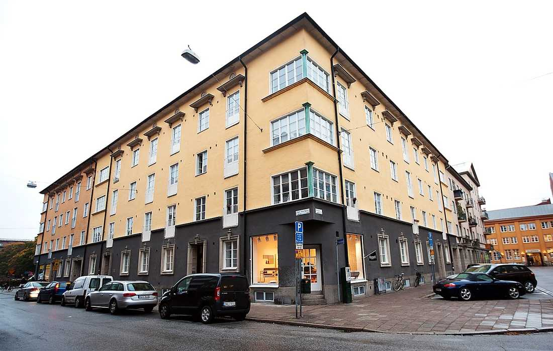 CHANS PÅ NYTT KLIPP  Tobias Billström är skriven på en tvåa på 55 kvadrat i centrala Malmö. Även den lägenheten är aktuell för ombildning till bostadsrätt.