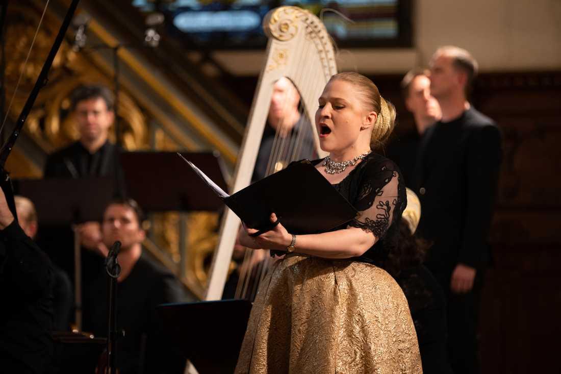 Christina Larsson Malmberg framträder på Early Music Festival