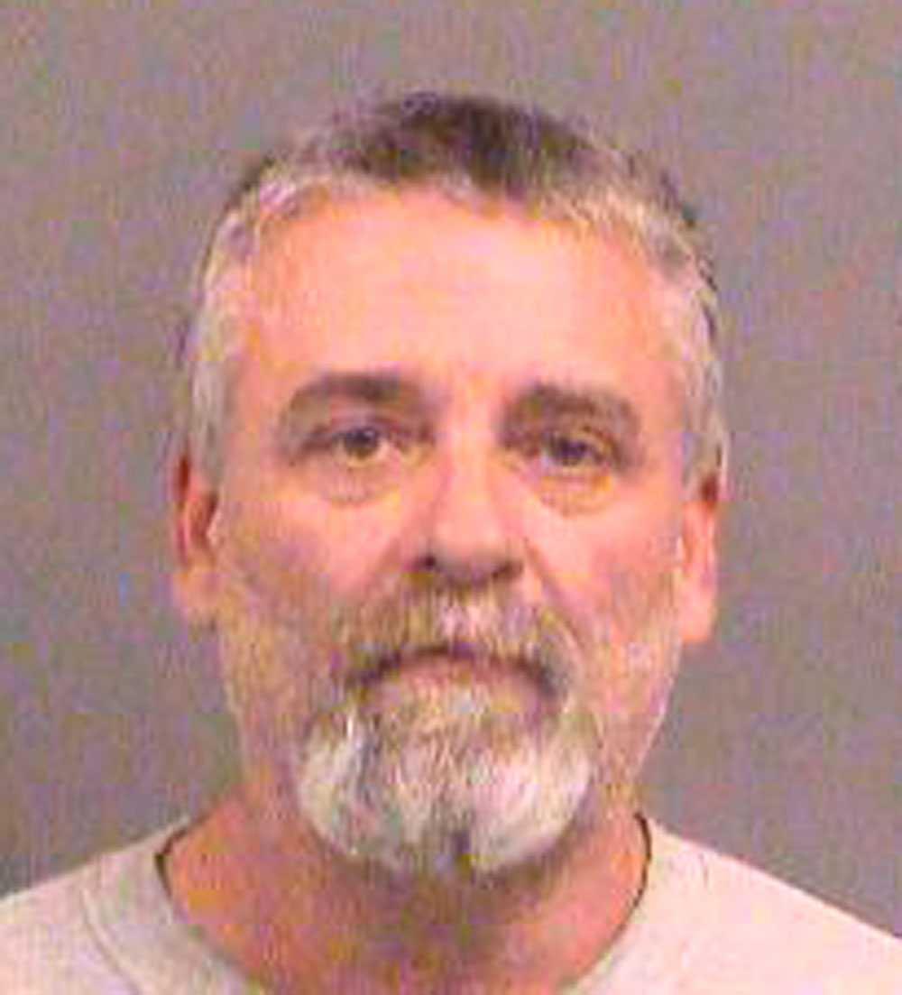 """Gavin Wright är en av männen som är medlem i en extremistisk milisgrupp som kallar sig """"The crusaders"""". Han greps på fredagen."""