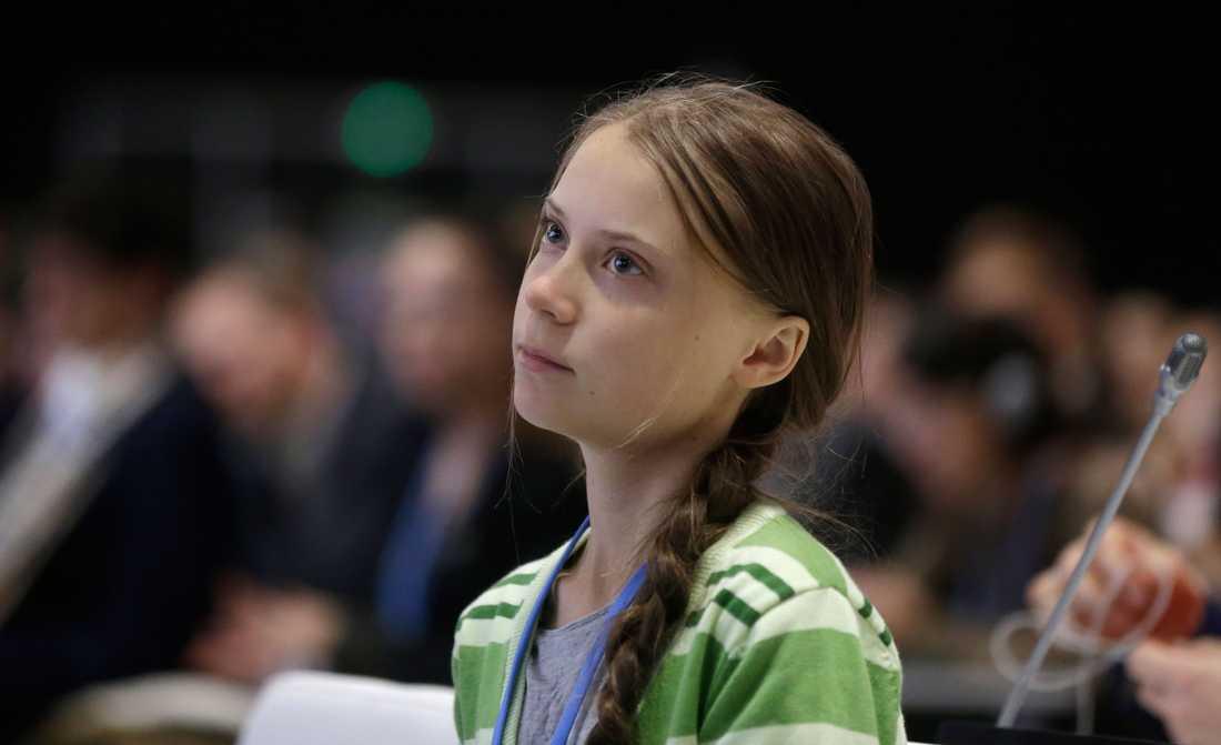 Greta Thunberg, klimataktivist.