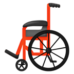 Manuell rullstol.