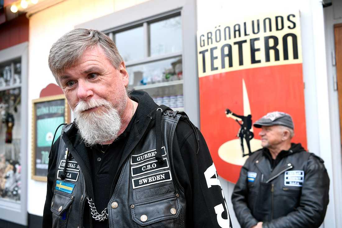 """""""jag måste säga att jag är lite stolt över vad vi gjort"""", säger Göran """"Gubben"""" Andersson."""