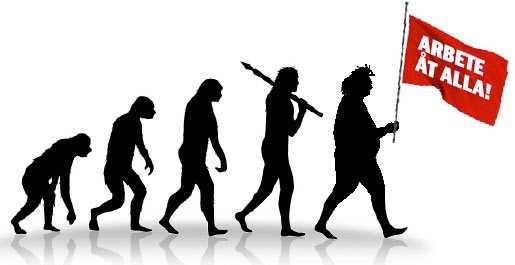 Evolutionsteorin. Teckning: Thinkstock, Fredrik Persson