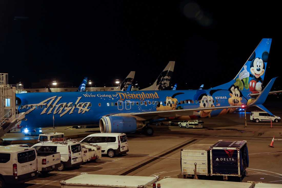 Flygplatsen i Seattle.