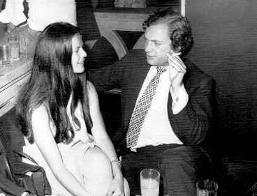 1975 Med Silvia i Berlin.