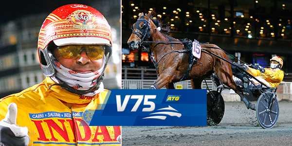 Alessandro Gocciadoro och Vincero' Gar spikas på V75.