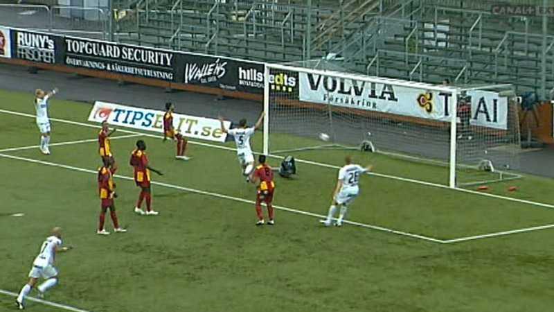 I 95:e minuten, med två man mer, gör Helsingborg 2-1.