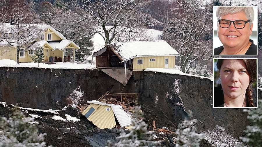 Det viktigaste nu, efter jordskredet i Norge, är att undvika att bygga hus i strandnära lägen. Därför ser vi stora risker med att strandskyddsutredningen föreslår flera lättnader i skyddet, skriver Maria Gardfjell och Elin Söderberg.