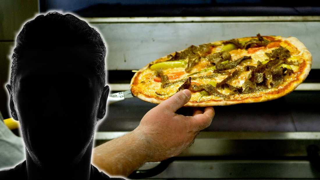 Pizzan blev inte som dokusåpaprofilen ville ha den.
