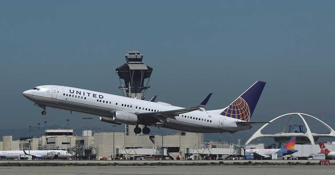 Genrebild på ett  Boeing 737-900ER, United Airlines.
