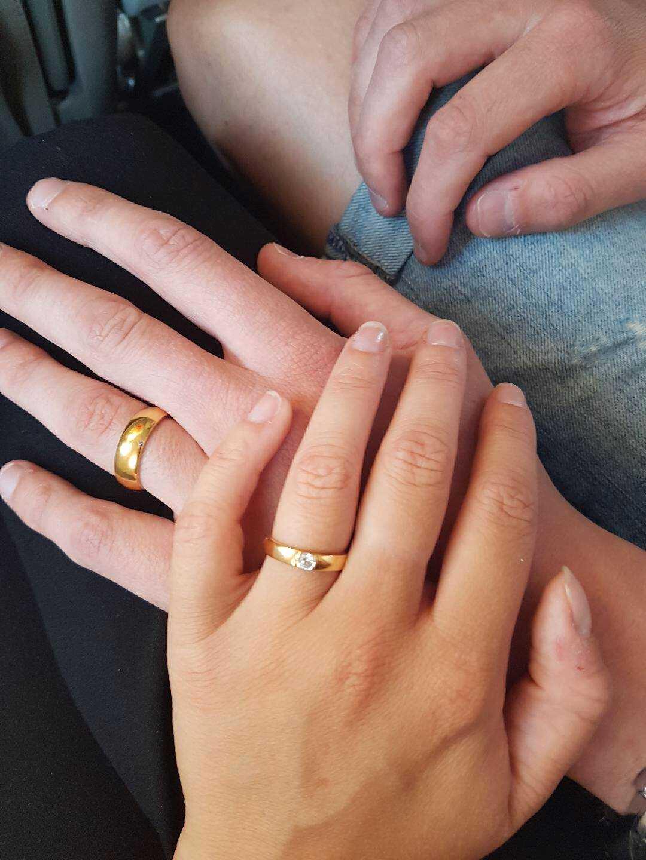 Hon sa ja.