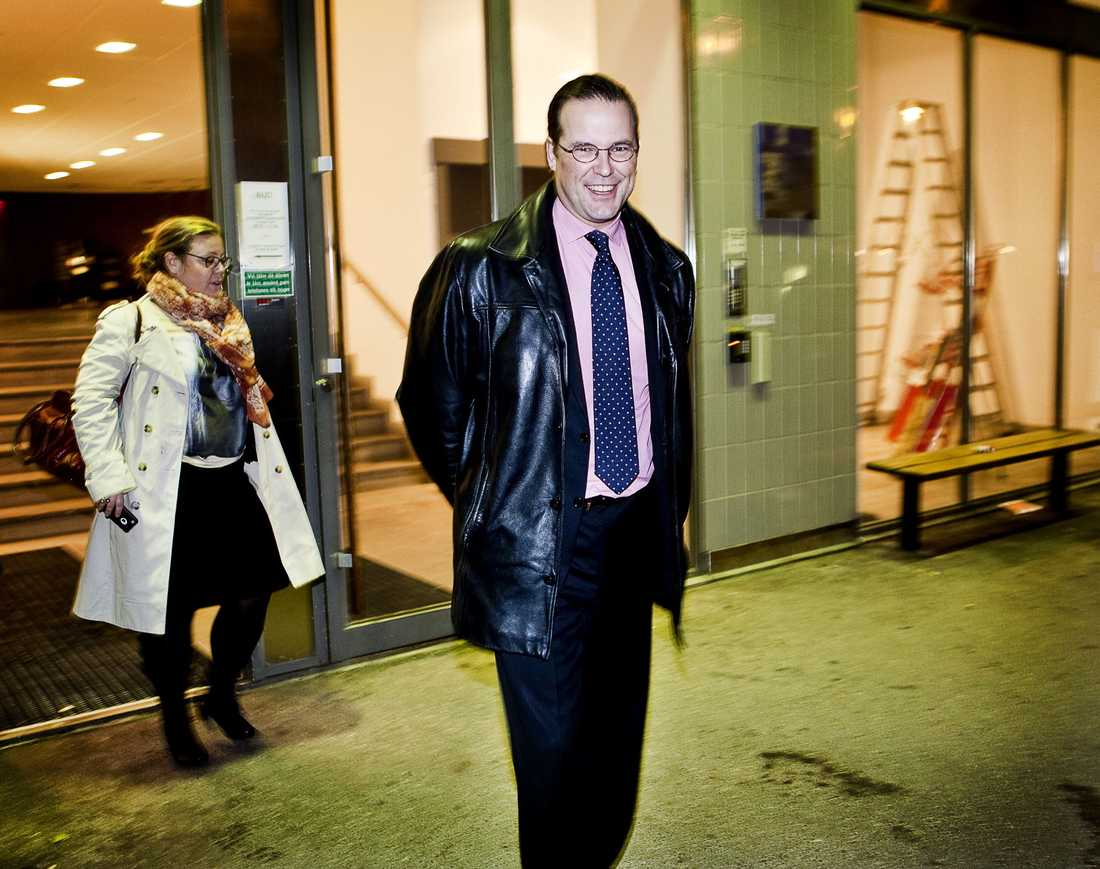 Anders Borg, (m) Finansminister.