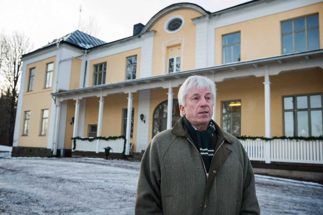Johan von Scheele, vice styrelseordförande Lundsberg.