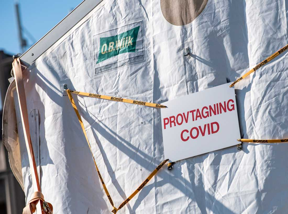 Enligt Synskadades riksförbund kan det vara krångligt för många synskadade att boka coronatest. Arkivbild.