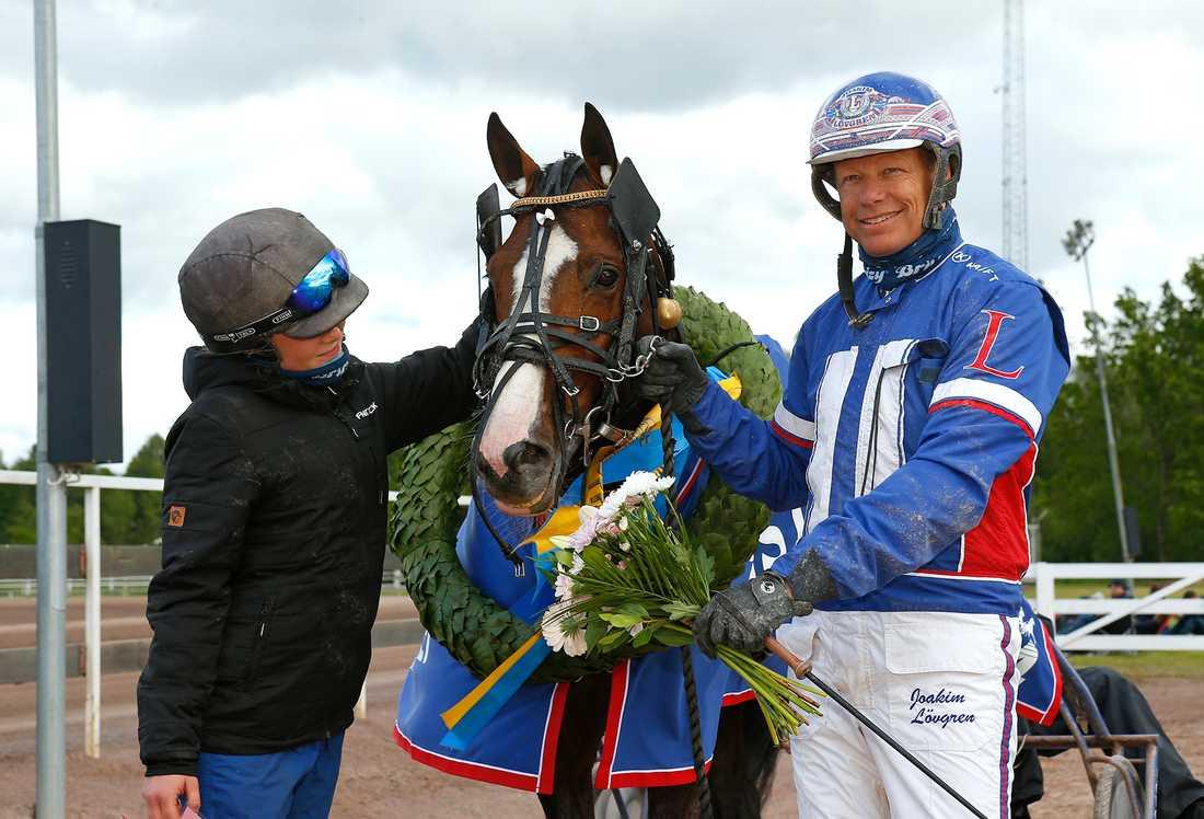 Racing Mange och Joakim Lövgren.