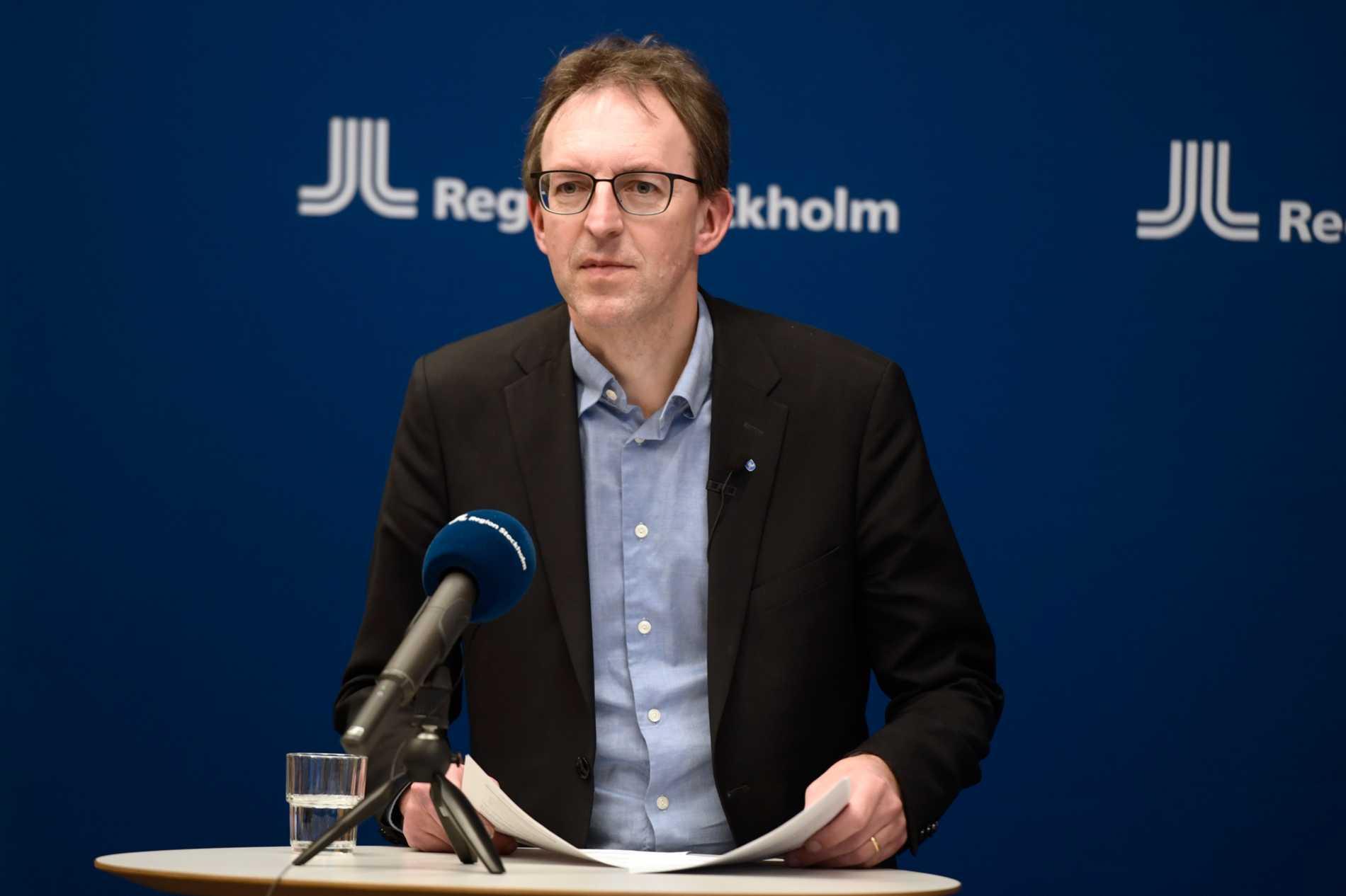 Magnus Thyberg, vaccinsamordnare i Region Stockholm.
