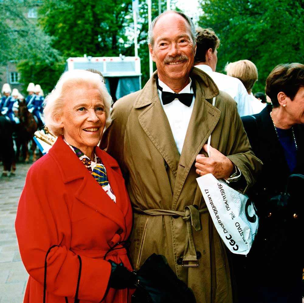 Bengt Halberg med frun Britt.