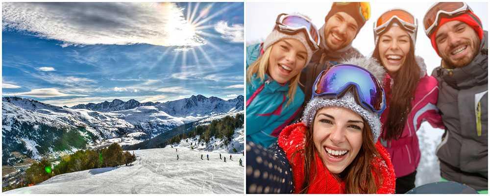 Andorra är vinterns hetaste skidort.