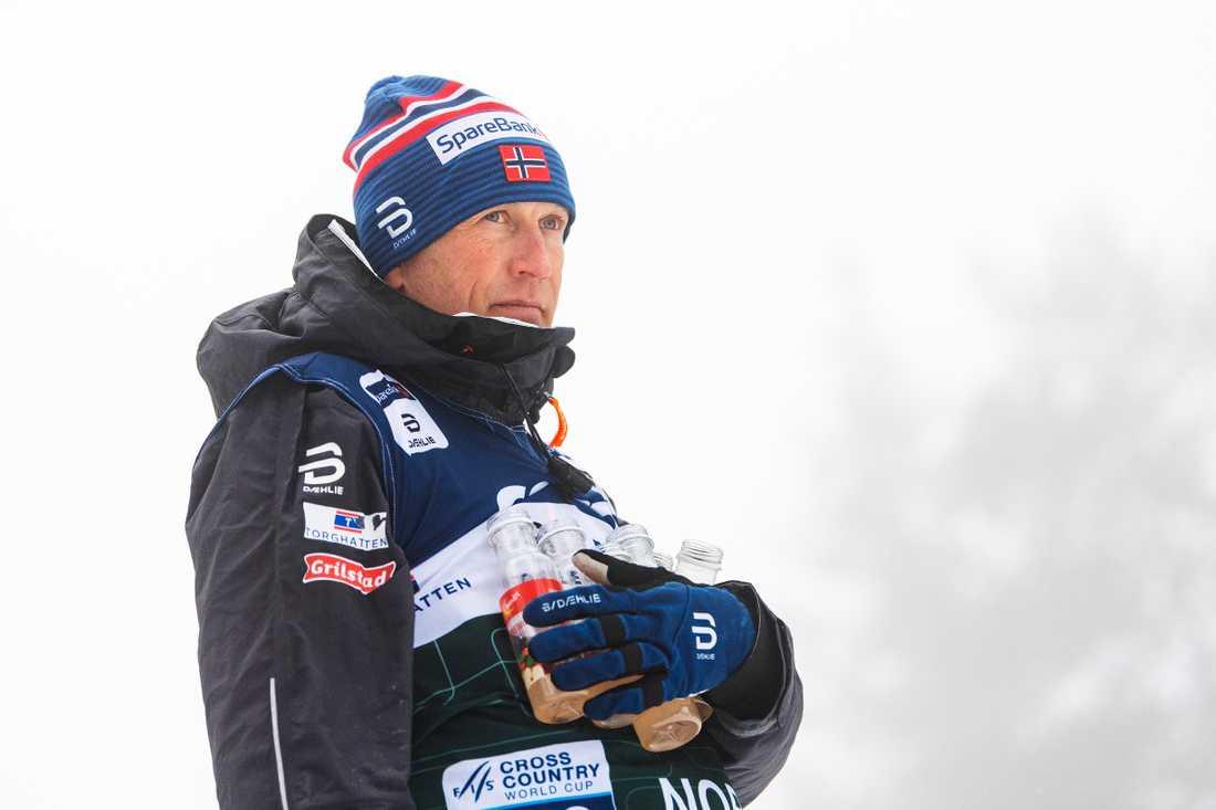 Norska landslagschefen Espen Bjervig.