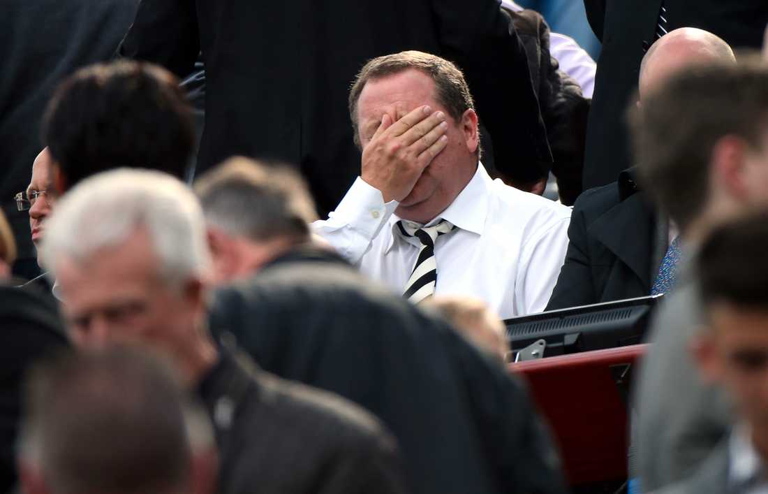 Mike Ashley i Newcastle