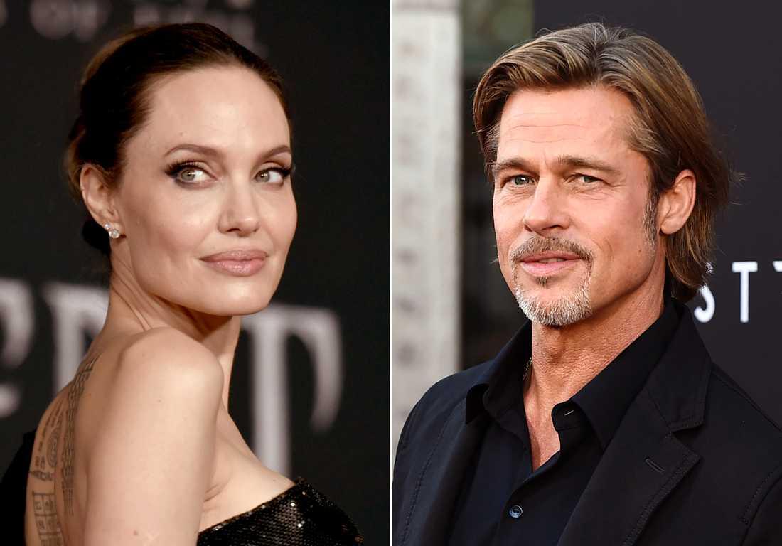 Angelina Jolie ansökte om skilsmässa från Brad Pitt 2016.