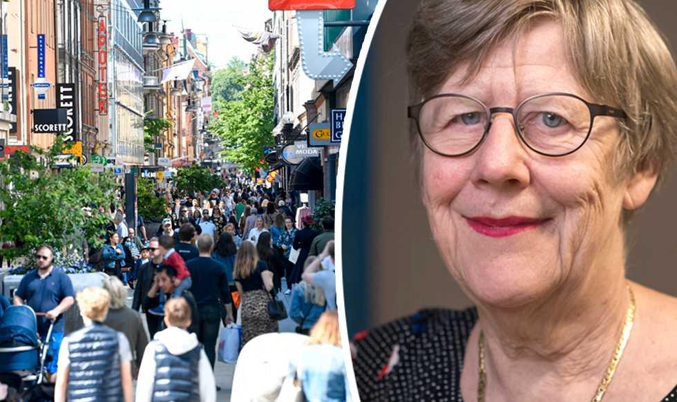 """Agnes Wold sågar forskarnas larm om luftburen smitta: """"Jättelarvigt"""""""