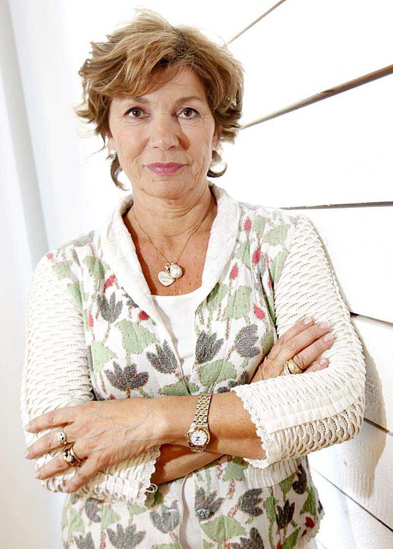 Amelia Adamo, 62, chefredaktör för M-magasin.
